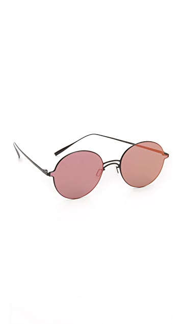 Gentle Monster By Her Flat Lens Sunglasses