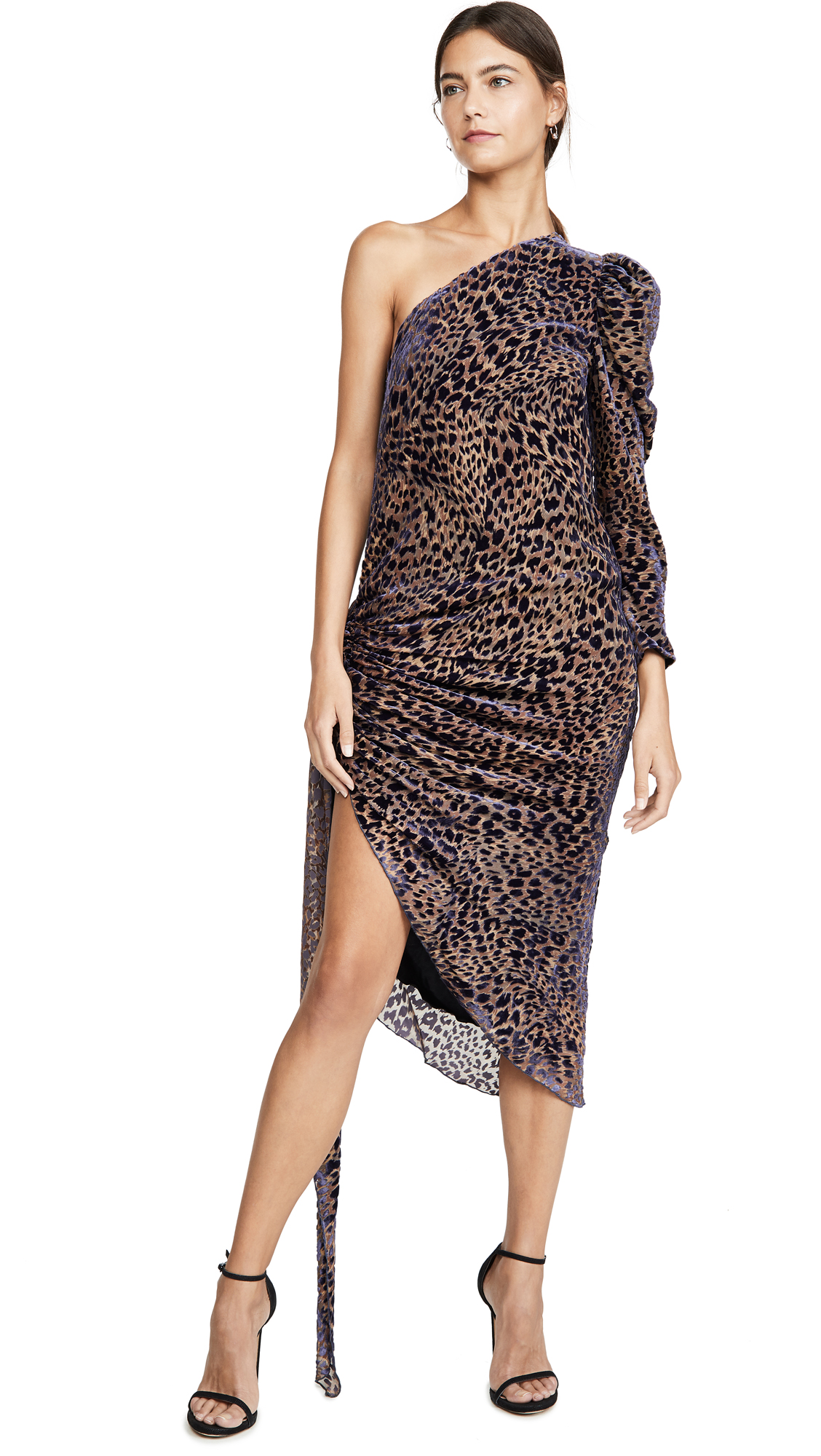 Buy Giuseppe di Morabito online - photo of Giuseppe di Morabito One Shoulder Drape Dress