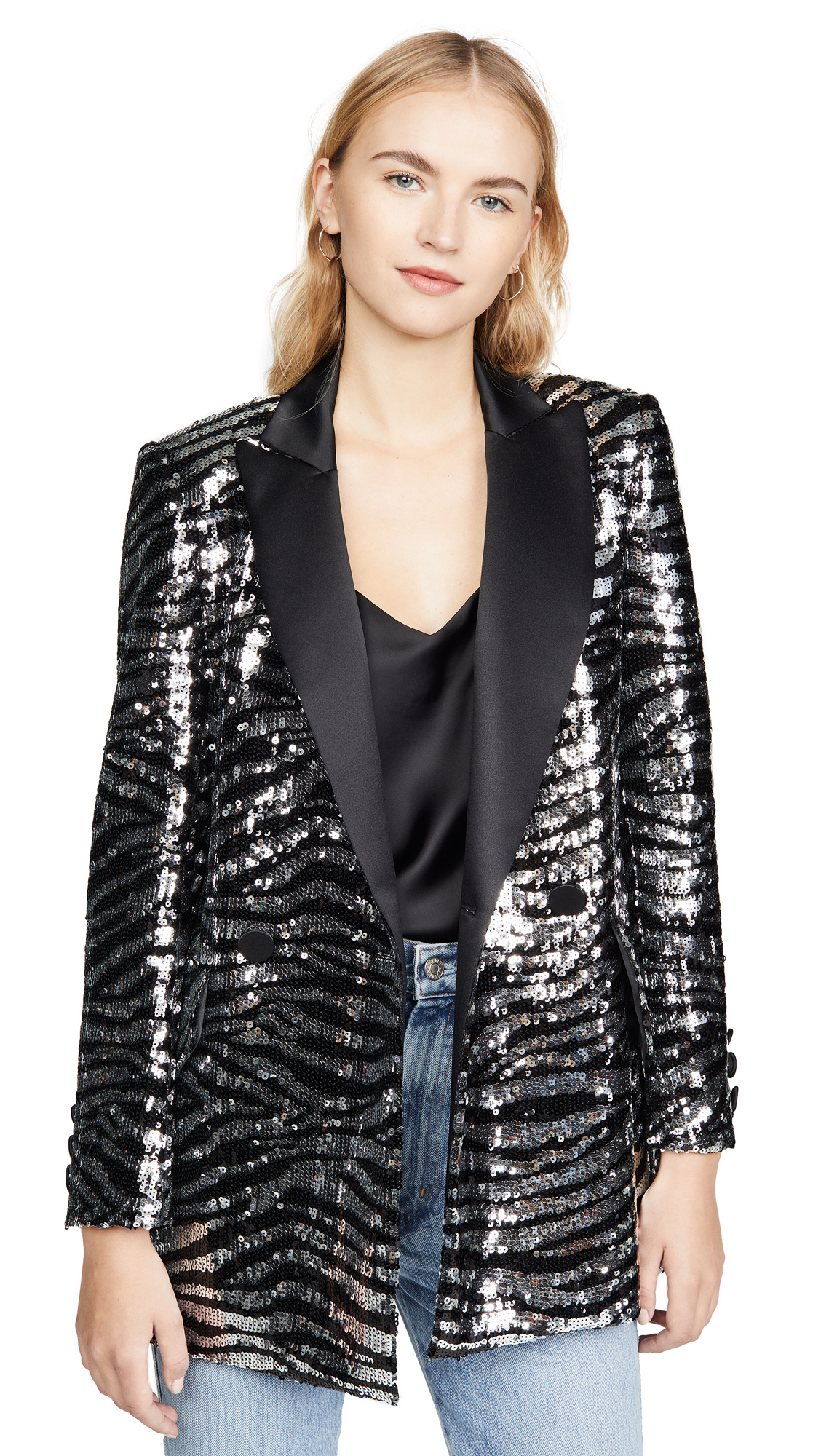 Buy Giuseppe di Morabito online - photo of Giuseppe di Morabito Sequin Zebra Jacket