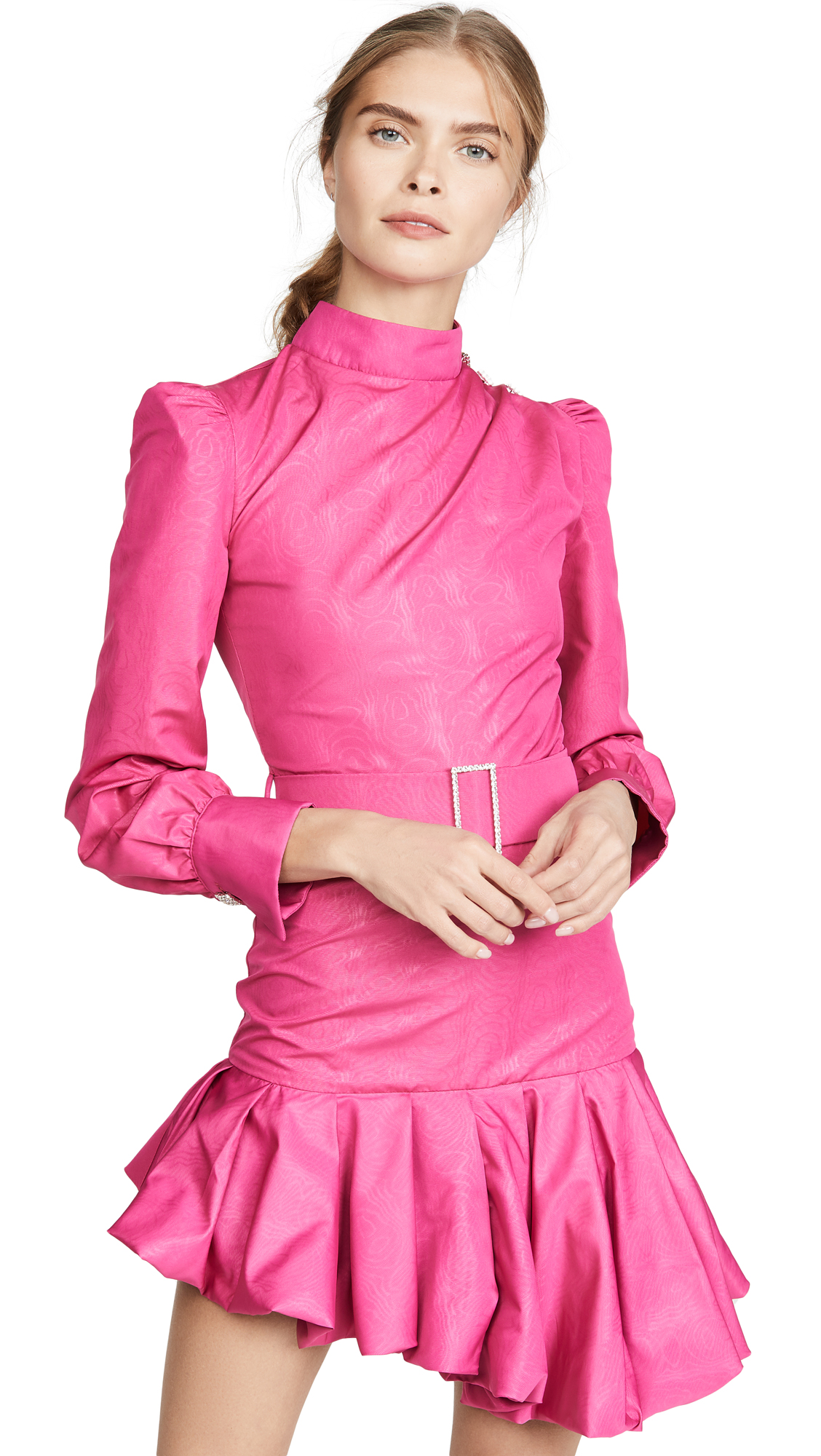 Buy Giuseppe di Morabito online - photo of Giuseppe di Morabito Belted Asymmetrical Mini Dress