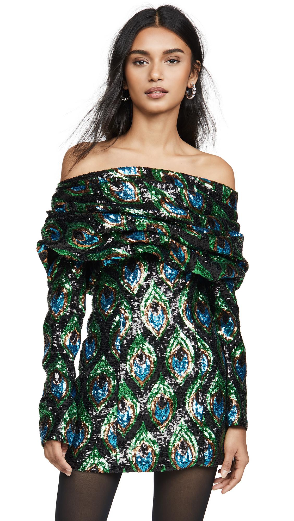Buy Giuseppe di Morabito Off the Shoulder Sequined Mini Dress online beautiful Giuseppe di Morabito Clothing, Dresses