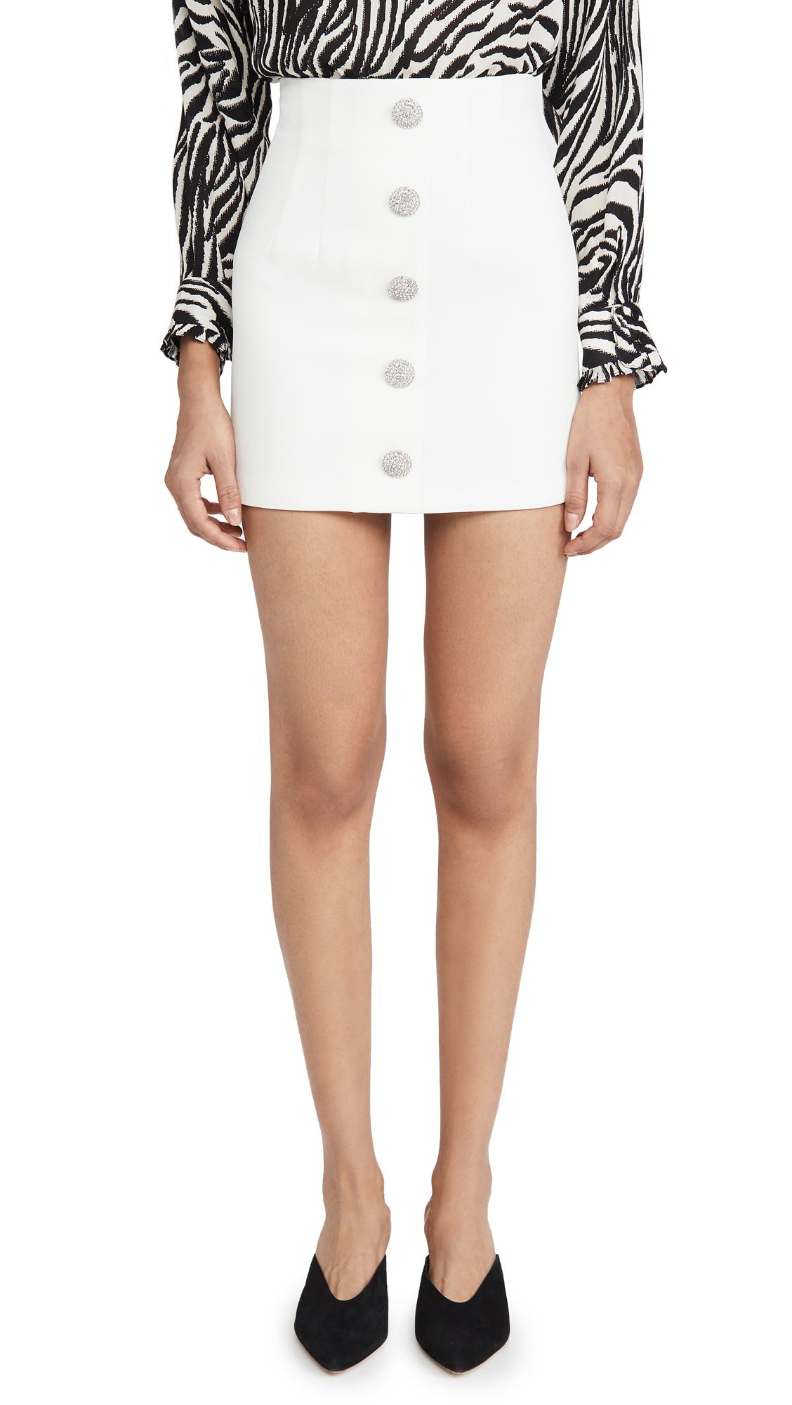 Buy Giuseppe di Morabito online - photo of Giuseppe di Morabito Button Miniskirt