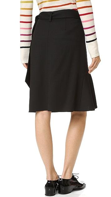 GOEN.J Ruffle Wrap Skirt
