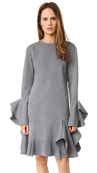 GOEN.J Long Sleeve Ruffle Dress  SHOPBOP