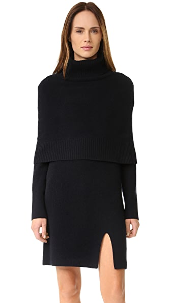 GOEN.J Sweater Dress with Shrug