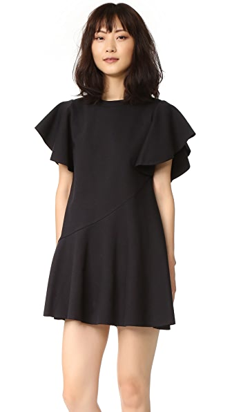 GOEN.J Ruffle Sleeve Dress