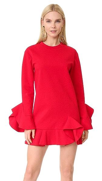 GOEN.J Ruffled Jersey Dress