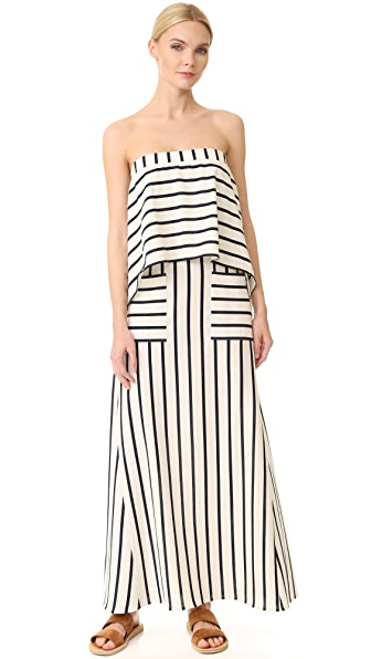 GOEN.J Striped Dress