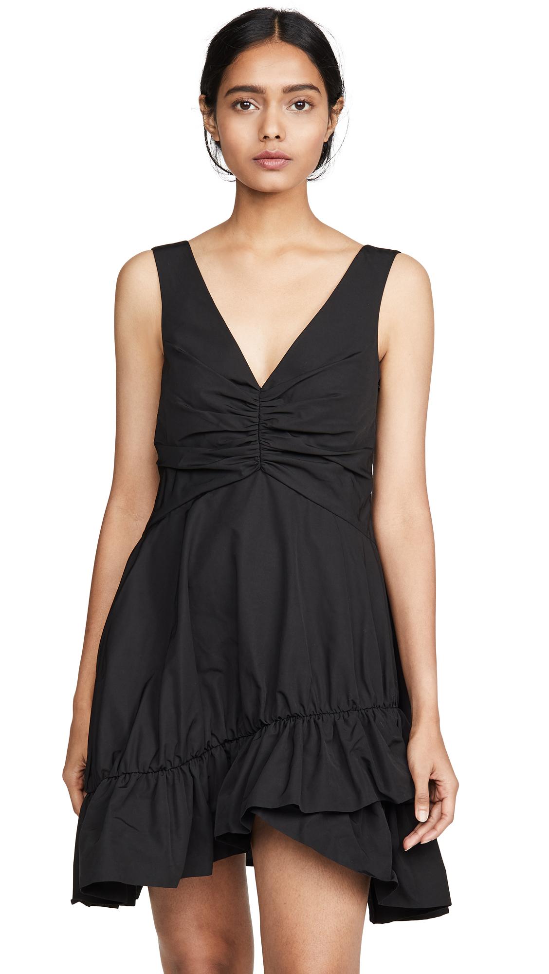 Buy GOEN.J online - photo of GOEN.J V Neck Dress