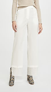GOEN.J Layered Straight Pants