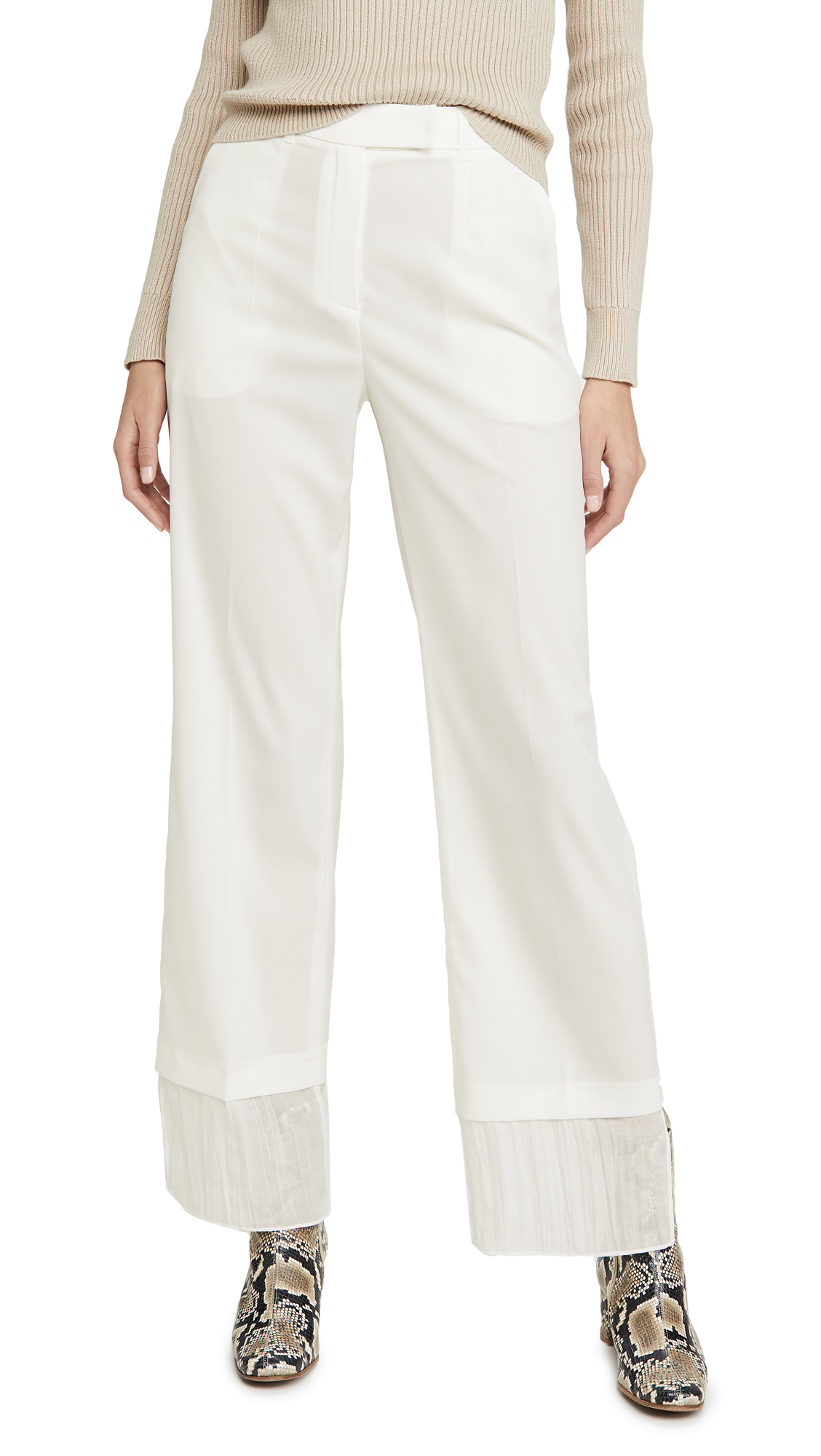 Buy GOEN.J online - photo of GOEN.J Layered Straight Pants