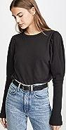 Goldie Puff Sleeve Sweatshirt