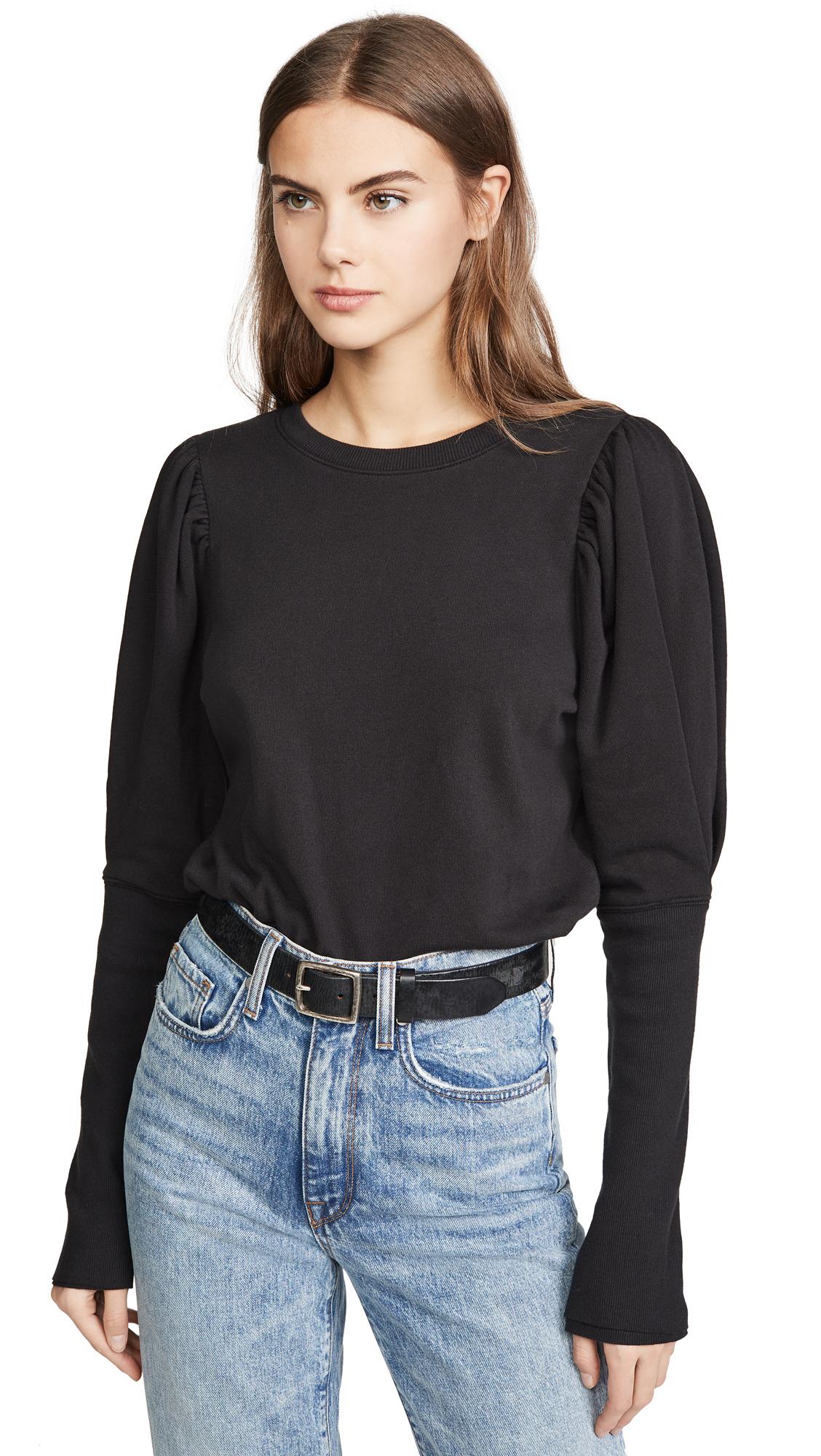 Buy Goldie online - photo of Goldie Puff Sleeve Sweatshirt