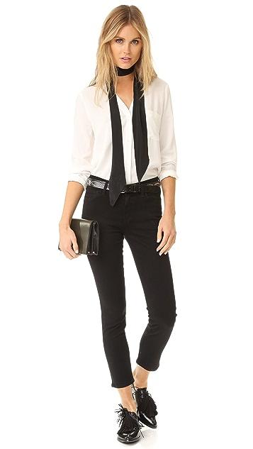 GOLDSIGN Isabelle Slim Fit Ankle Jeans