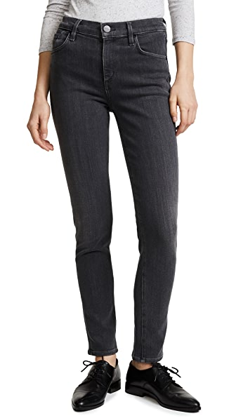 GOLDSIGN The Profit Skinny Jeans In Slate Grey