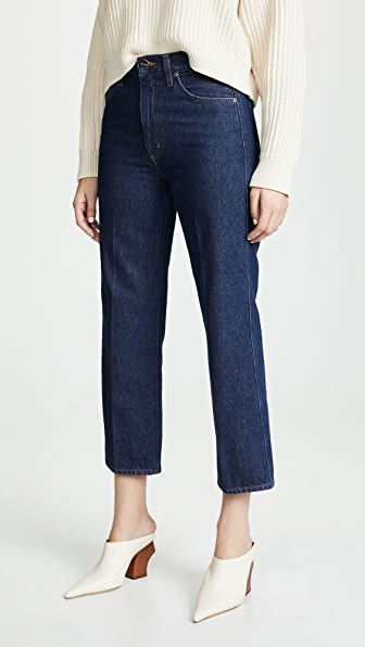 Goldsign BURNS THE CROPPED A JEANS