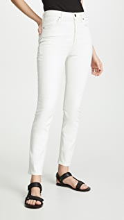 GOLDSIGN Узкие джинсы с высокой посадкой