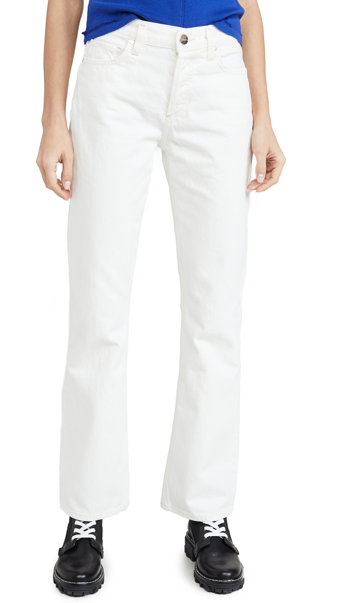 Buy GOLDSIGN online - photo of GOLDSIGN The Nineties Boot Cut Jeans