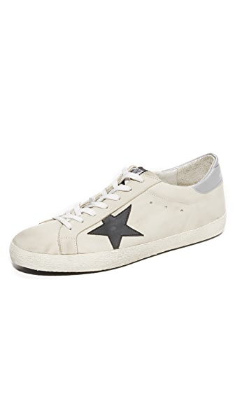 Golden Goose Superstar Nubuck Sneakers