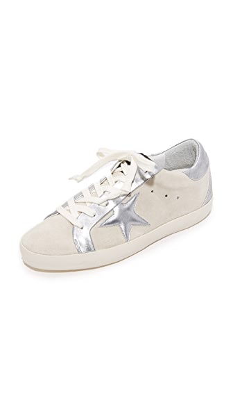 Golden Goose Bespoke Superstar Sneakers - White/Silver