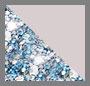 Blue Glitter/Lilac
