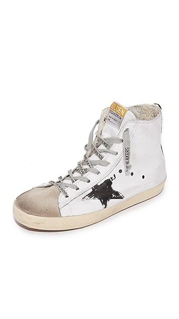 Golden Goose White Flag Francy Sneakers