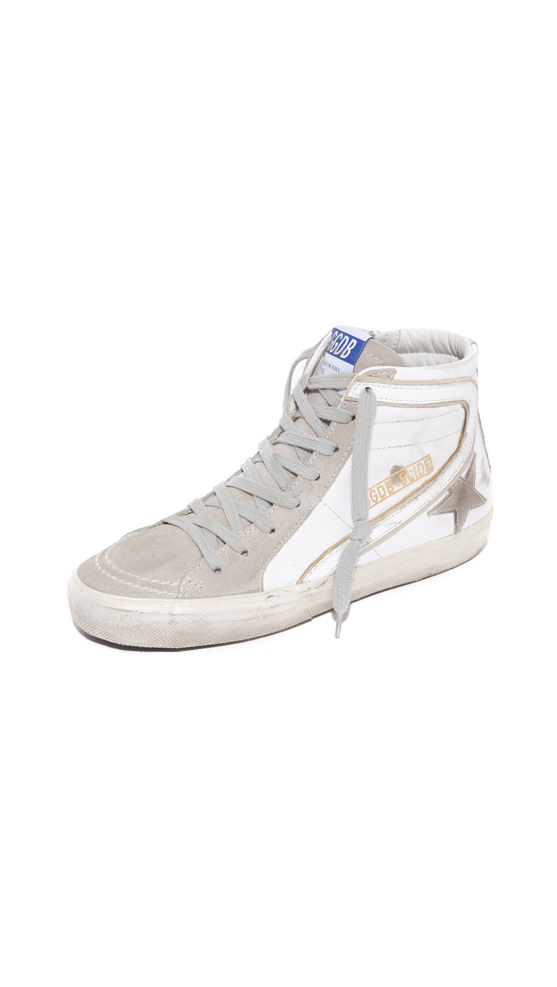 Golden Goose Slide Sneakers - White