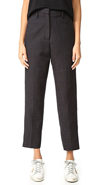 Golden Goose Golden Pants - Grey Check
