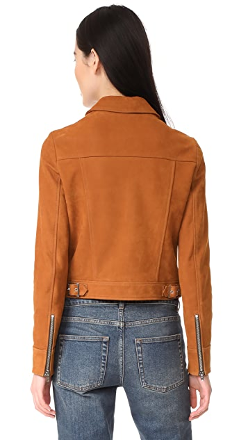 Golden Goose Mini Leather Jacket