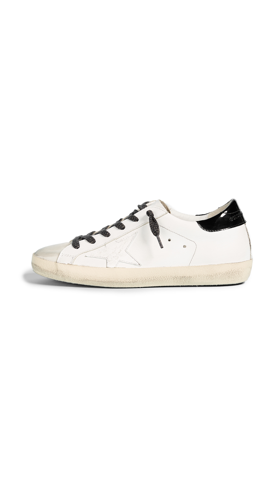 Golden Goose Superstar Sneakers - White/Croc Star