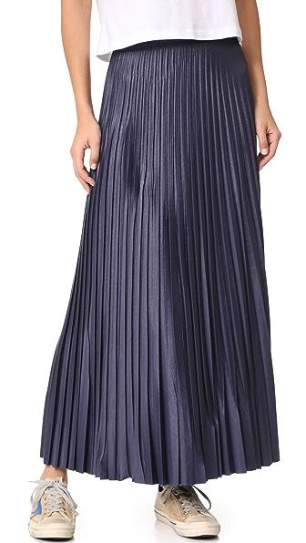 Golden Goose Liza Skirt In Blue