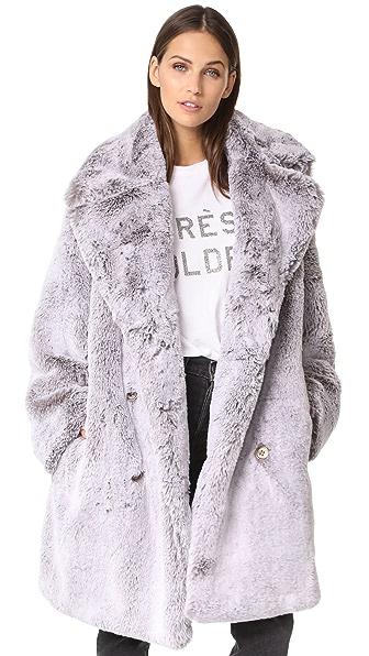 Golden Goose Janis Coat - Grey