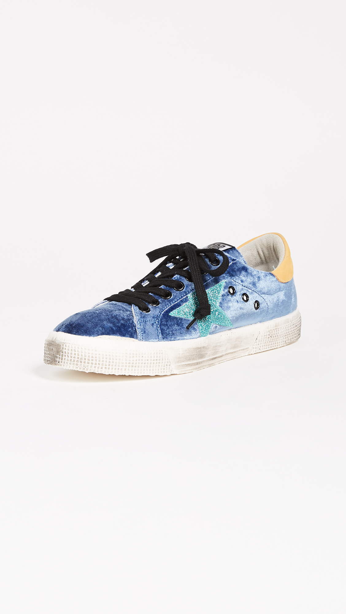 Golden Goose May Sneakers - Bluette/Aquamarine