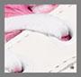 White/Fuchsia