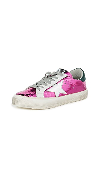 Golden Goose May Sneakers In Fuchsia