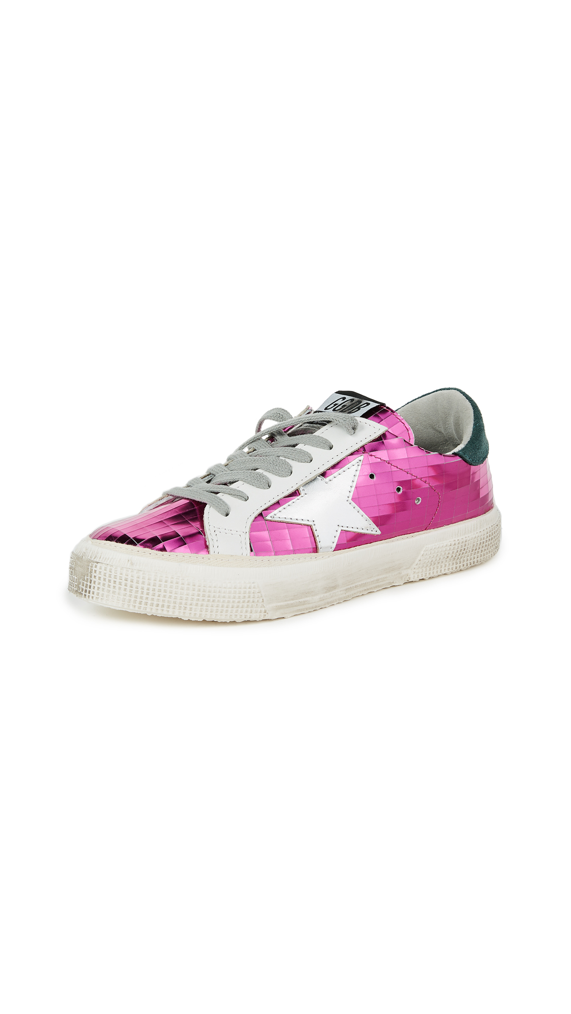 Golden Goose May Sneakers - Fuchsia