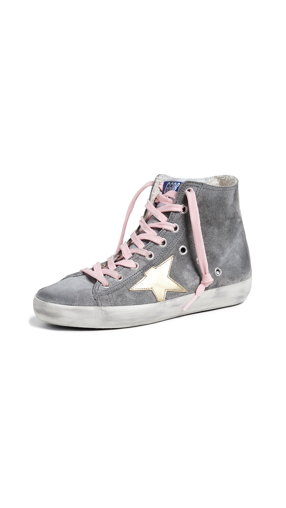 Golden Goose Francy Sneakers - Grey/Gold
