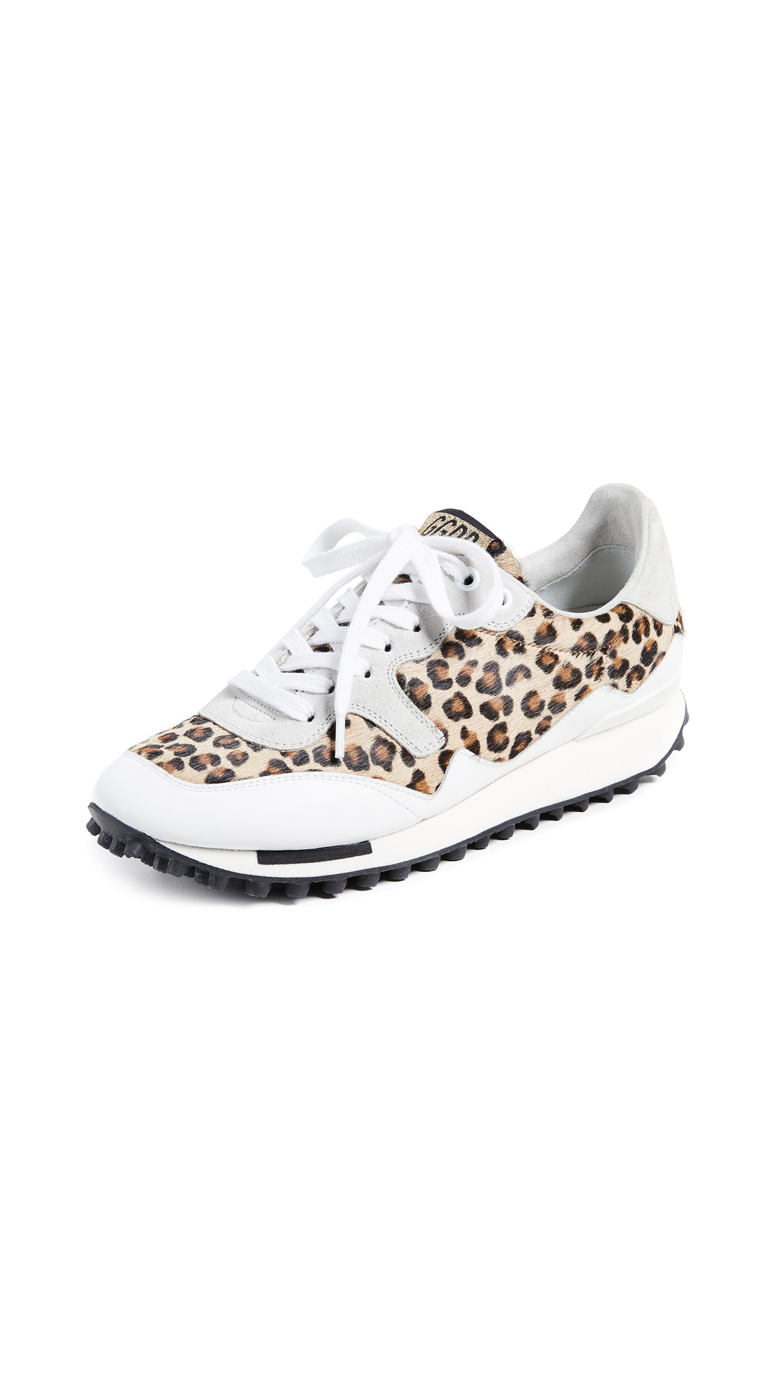 Golden Goose Starland Sneakers - Leopard/Ice
