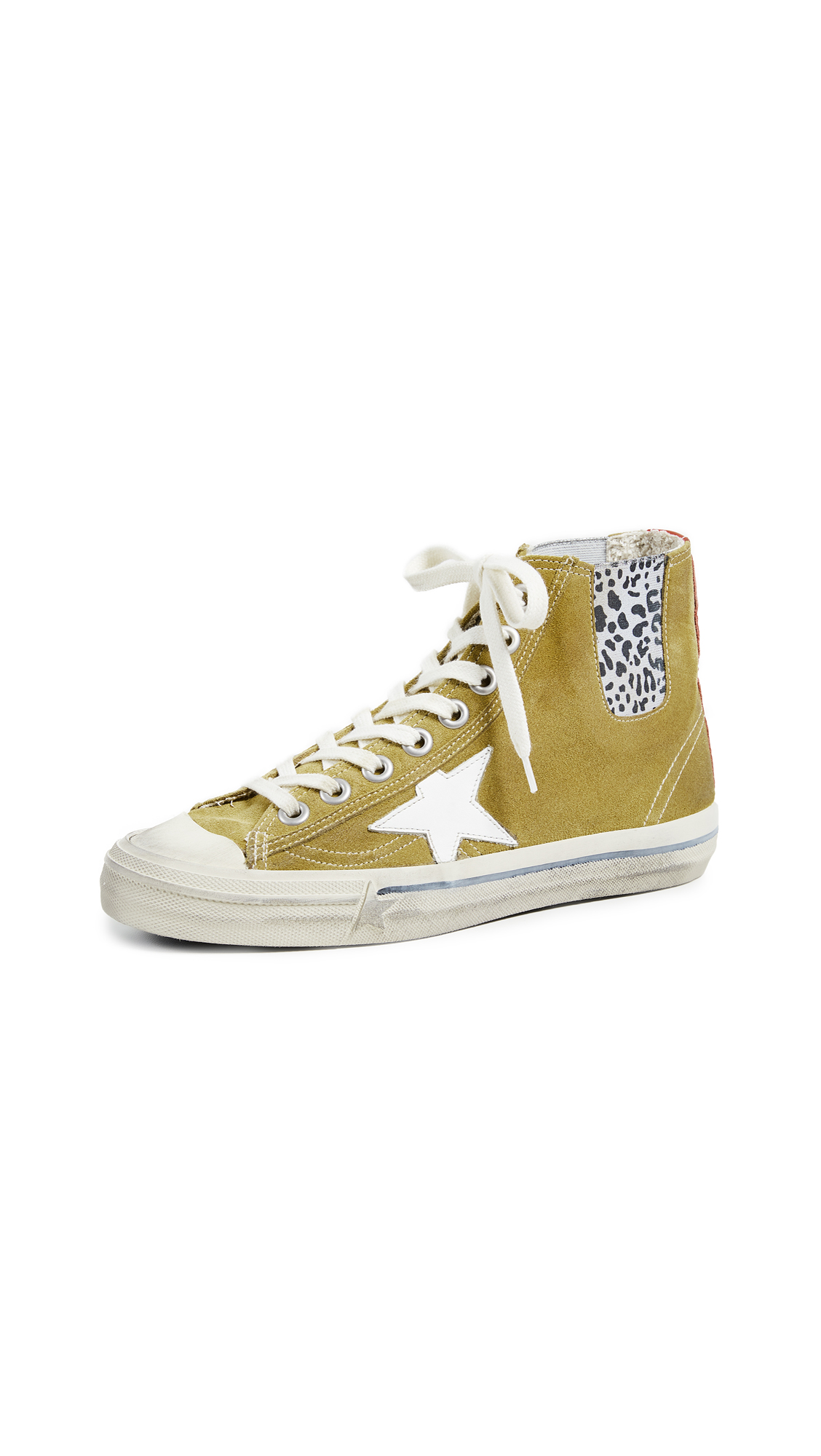 Golden Goose V Star 1 Sneakers - Mustard