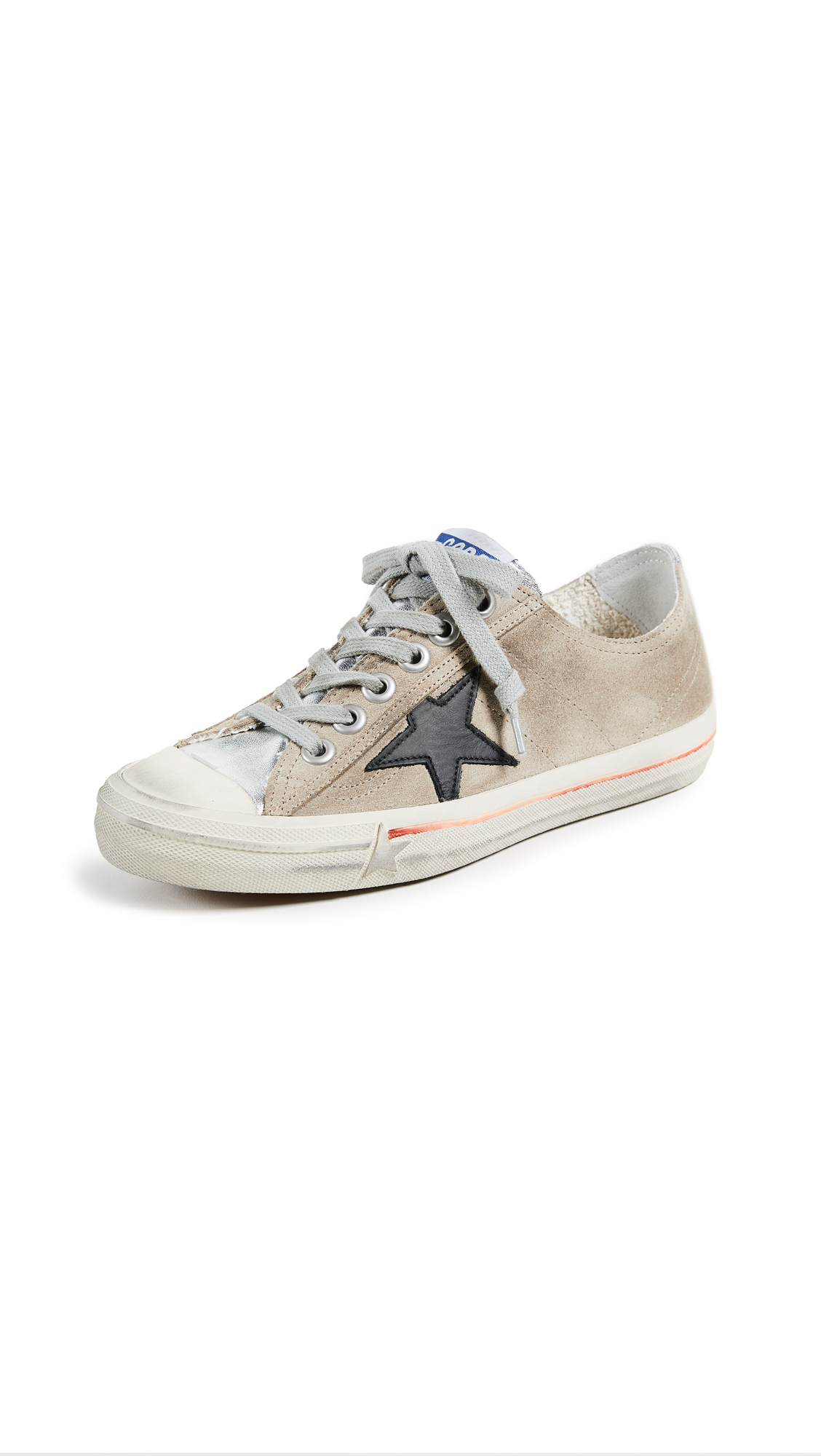 Golden Goose V-Star 2 Sneakers - Sand