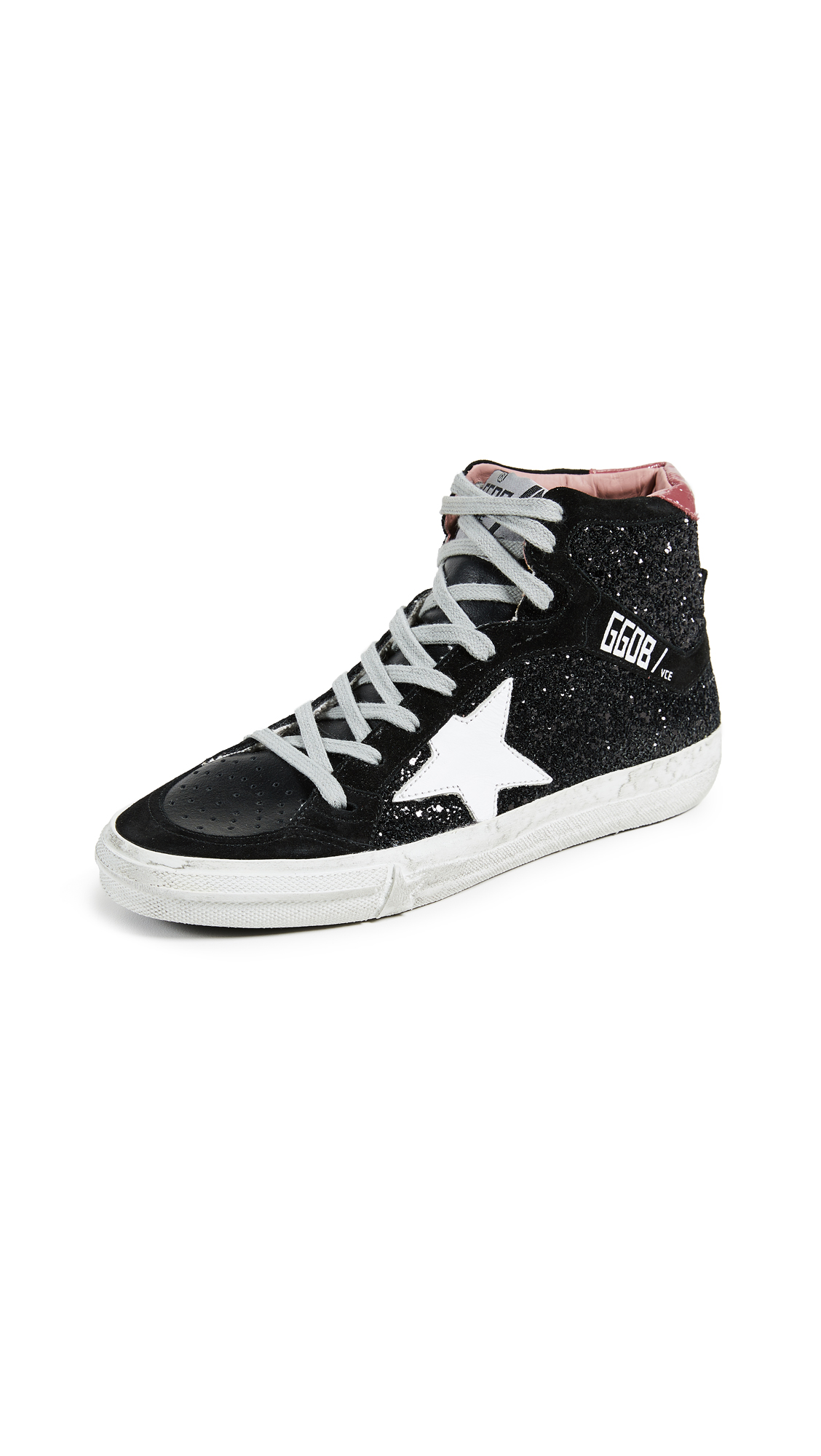Golden Goose 2.12 Sneakers - Black/White