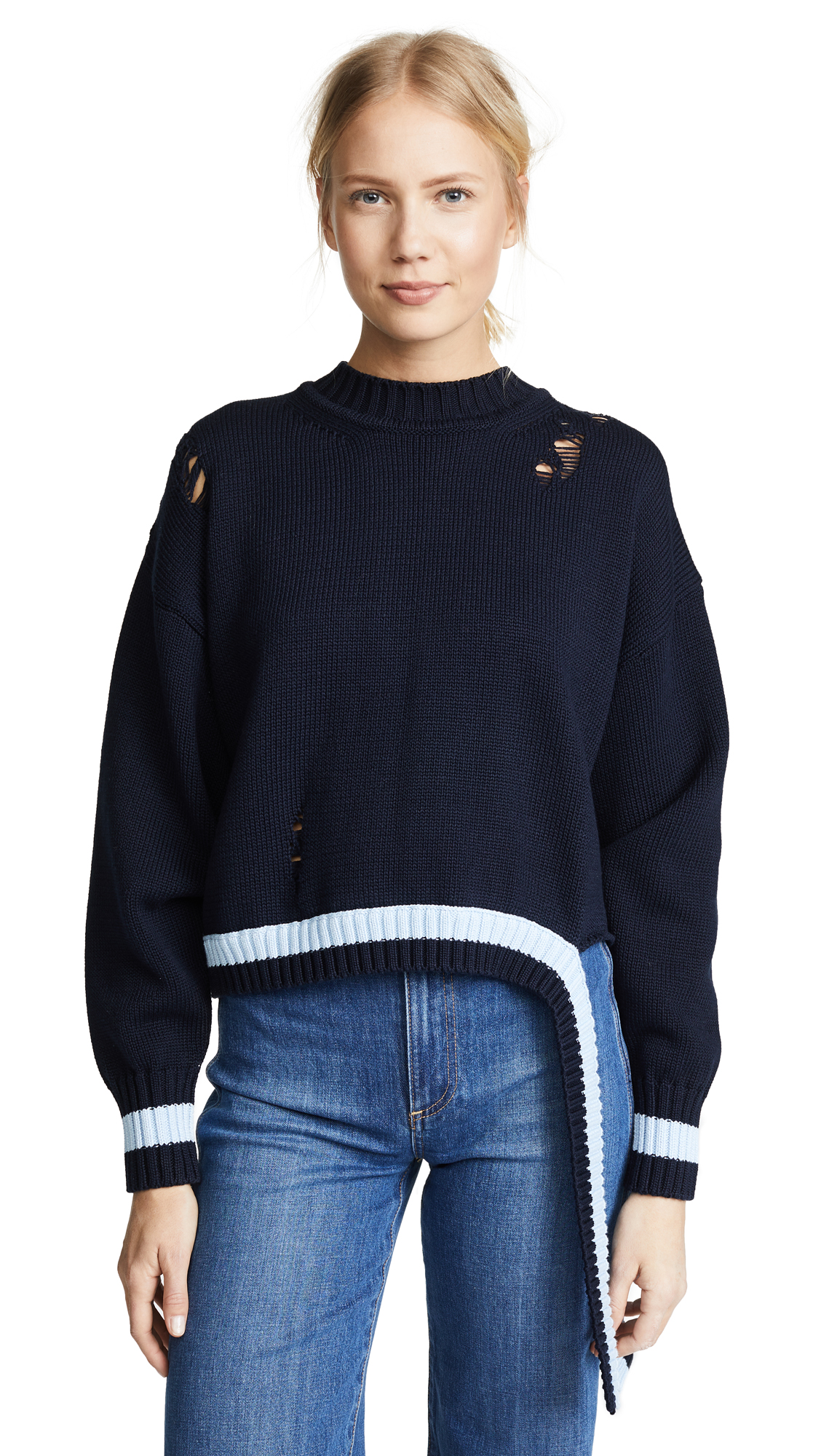 Golden Goose Lea Sweater In Navy