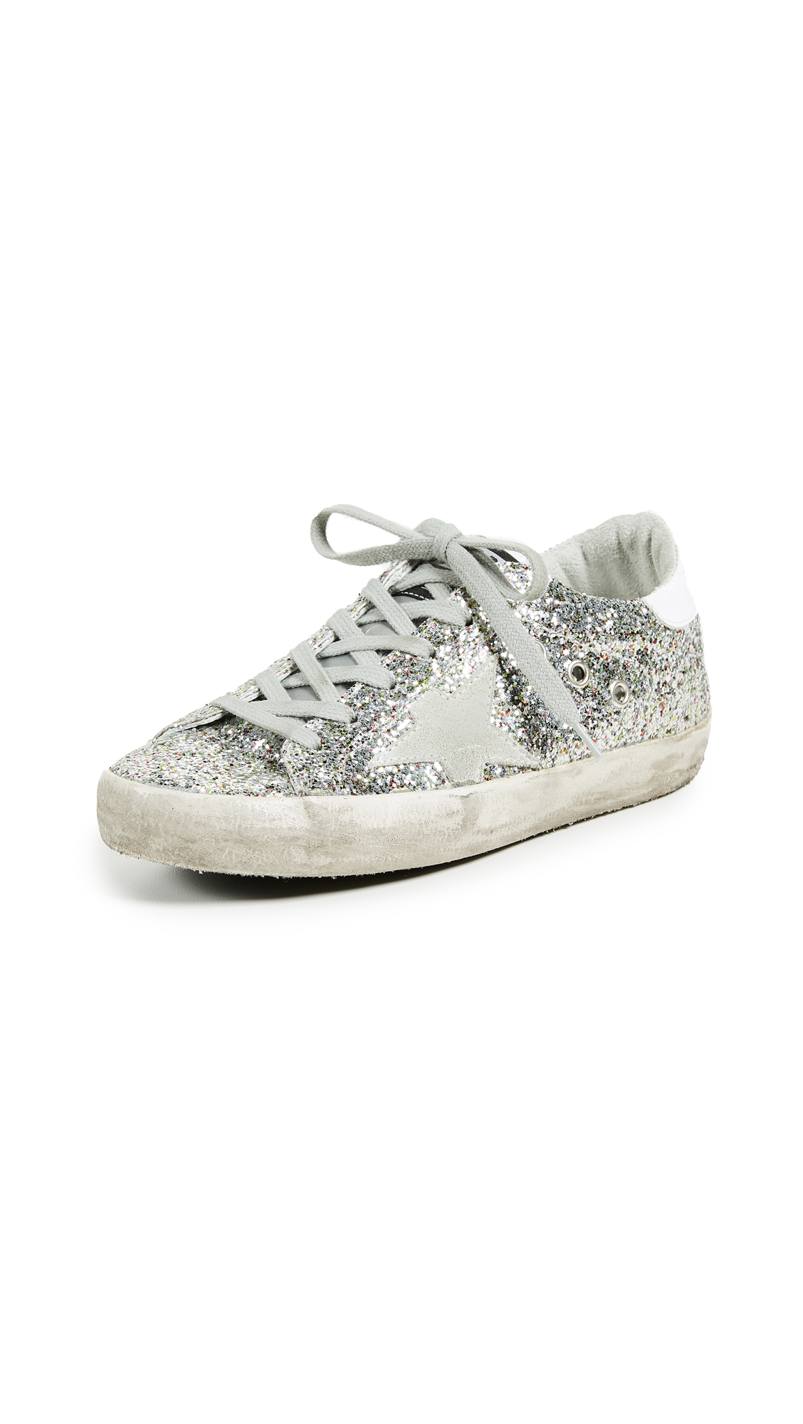 Golden Goose Superstar Sneakers - Multi Glitter