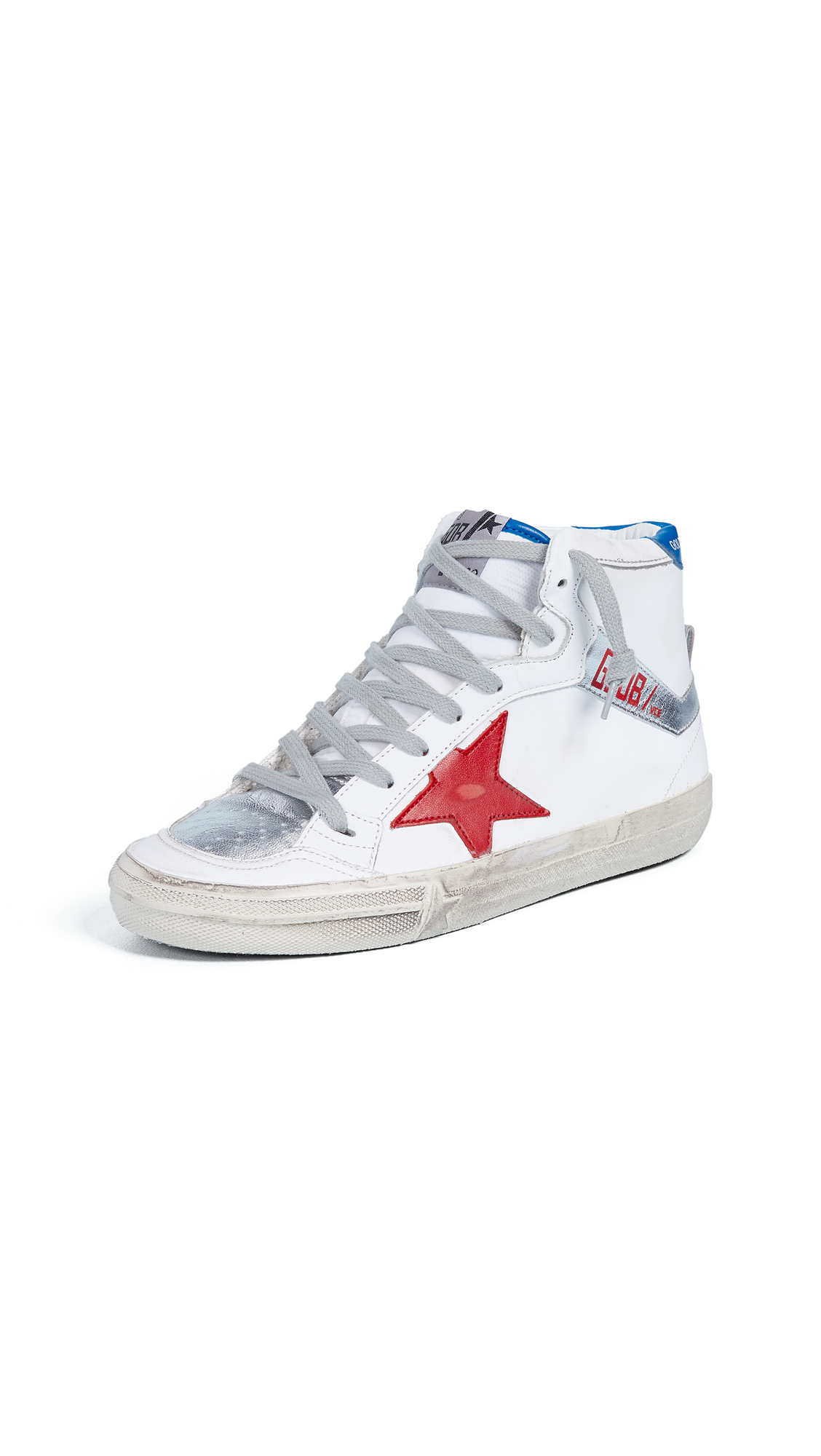 Golden Goose 2.12 Sneakers - White/Red