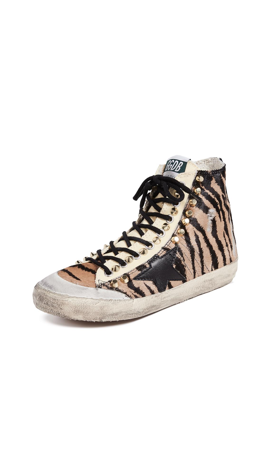 Golden Goose Francy Sneakers - Tiger/Black Penstar