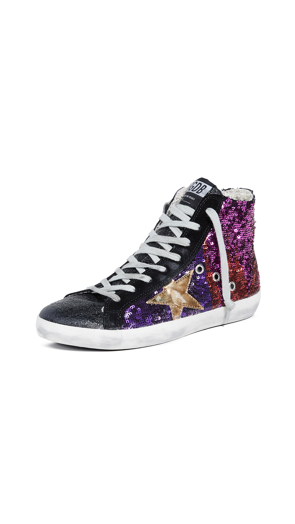 Golden Goose Francy Sneakers - Camelion/Gold Star