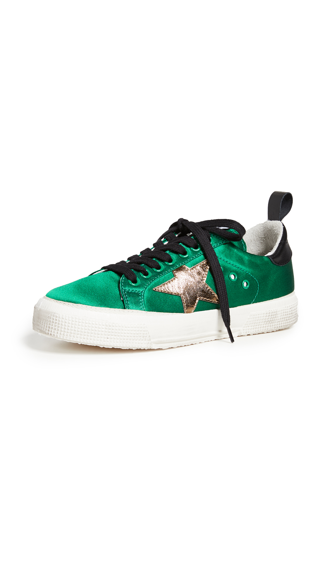 Golden Goose May Sneakers - Green/Double Belt