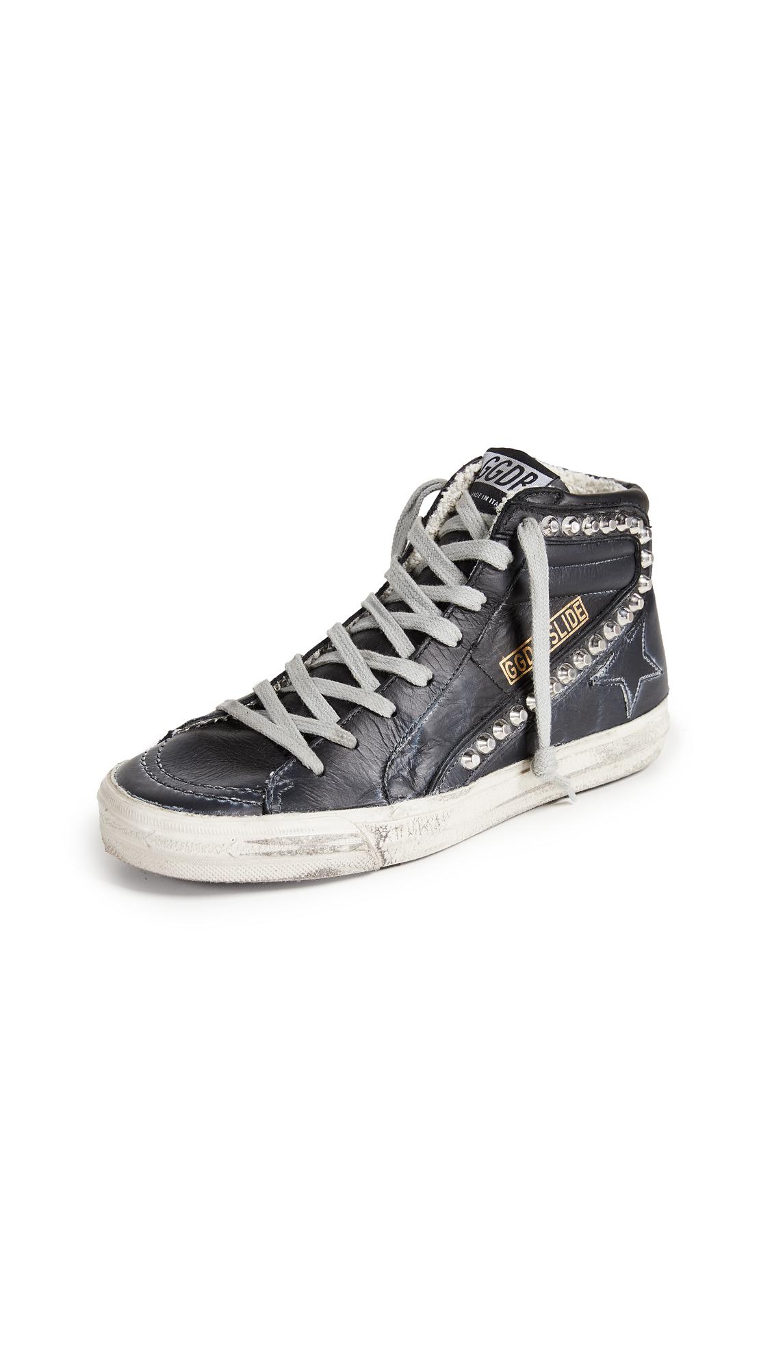 Golden Goose Slide Sneakers - Black