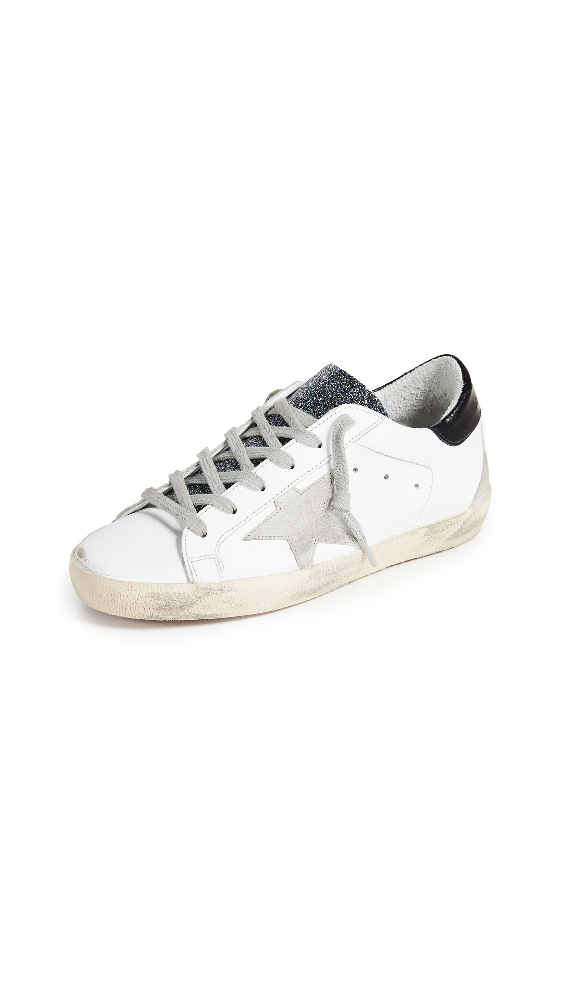 Golden Goose Superstar Sneakers - White/Cosmic Crystal