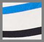 Navy/Azure Stripes